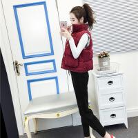 2018新款休闲冬装冬季套装女时尚两件套bf气质马甲高腰萝卜裤潮