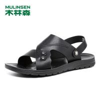 木林森男鞋 2018夏季防滑透气舒适软底休闲沙滩鞋 05287730