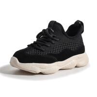 女童鞋子2019新款夏季儿童时尚网面休闲跑步鞋男童韩版透气运动鞋