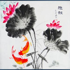 现代画家  杨丽  雅韵  /2-A2