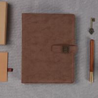 复古笔记本子礼盒套装定制商务活动奖品会议伴手礼活页本