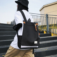 大容量日系翻�w��包女��s背包可�b��X包14寸�p肩包大�W生上�n包