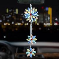汽车挂件 吊坠后视镜保平安符车上小车轿车饰品摆件车内吊饰水晶 汽车用品