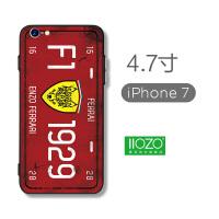 苹果7手机壳男iphone6plus套7p潮6s硅胶8防摔磨砂x软壳xs新款max iphone7/8 车牌