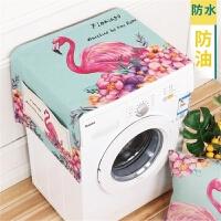 洗衣机垫子盖布多功能隔热电冰箱微波炉韩版欧式上盖阳台专用冰箱