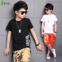 男童夏装新款套装夏季大码童装短袖宽松中童两件套