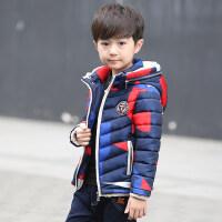 童装男童冬装棉衣外套2018新款棉袄中大童加绒加厚儿童潮