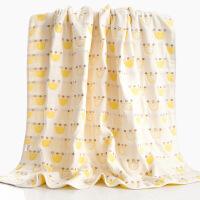 纱布浴巾毛巾被婴儿童小孩棉柔包被幼儿园盖毯