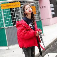2018冬季新款女短款韩版学生宽松面包服原宿加厚棉衣女外套