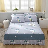 伊迪梦家纺 纯棉单件床裙 纯棉单品床罩 固定床型式床单 儿童学生宿舍成人1.2单人1.8双人床HC332