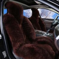 冬季澳洲纯羊毛坐垫 毛绒车垫皮毛一体 冬天汽车座垫车套女士座套