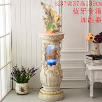 家庭室内客厅鱼缸家居装饰品欧式工艺品招财创意摆件乔迁新居礼品