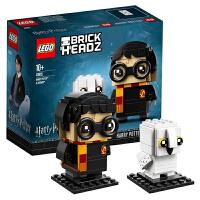 当当自营 乐高LEGO方头仔BrickHeadz系列41615哈利・波特与海德薇套装