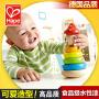 德国hape小丑堆塔1-2岁儿童玩具启蒙宝宝层层叠叠高 木制益智