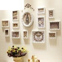 相片背景墙创意组合相框挂墙欧式实木照片墙简约现代客厅餐厅装饰
