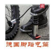 自行车打气筒汽车携式脚踩式 带压力表摩托车高压气筒迷你便