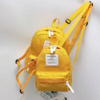 儿童日本户外运动旅行简约背包包糖果色双肩包亲子包男女宝宝书包