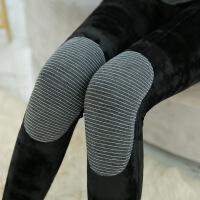 新款石墨烯暖宫护膝分层一体裤女士加绒加厚踩脚打底裤340g