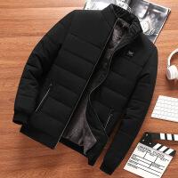 爸爸装冬季保暖外套加绒加厚中年男士棉衣40老年棉袄5