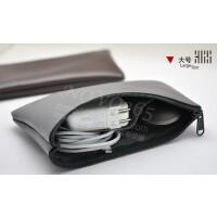 笔记本电脑电源包 保护套 内胆包拉链包 双层 夹层 充电器包