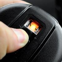 可点烟多功能车载烟灰缸带盖车用带LED灯车内汽车用品超市创意 汽车用品