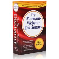 [现货]英文原版 The Merriam-Webster Dictionary 韦氏英英字典 小红 2016年新版 韦氏三宝之一 雅思托福考试