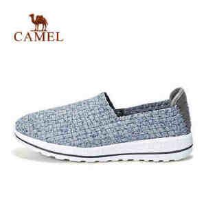 camel 骆驼户外休闲鞋 男女款轻便透气防滑耐磨运动休闲鞋