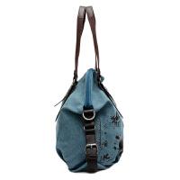 新款韩版简约涂鸭女士帆布包手提包单肩包斜挎包大包女包休闲包包
