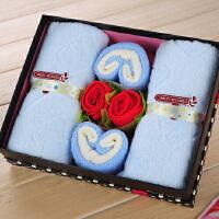 创意蛋糕毛巾心相印礼盒寿宴婚庆回礼生日礼物商务开业节日礼品