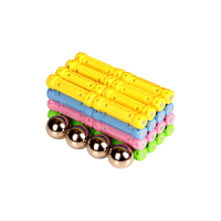磁力棒玩具儿童磁性片积木宝宝磁铁拼接装吸铁石散装男女孩子
