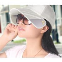 新品韩版户外运动鸭舌棒球帽户外钓鱼防晒可伸缩遮阳帽男女
