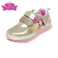 迪士尼Disney童鞋17新款儿童运动鞋格力特闪耀女童公主鞋学生鞋时尚儿童休闲鞋 (5-10岁可选) DS2561