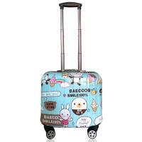 时尚卡通行李箱女迷你18寸拉杆箱韩版小清新旅行箱16寸可爱登机箱