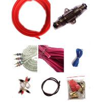 汽车音响低音炮线功放套线改装用连接线音频线材电源线喇叭线