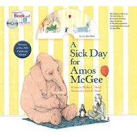 A Sick Day for Amos McGee: Book & CD Storytime Set 英文原版 阿莫的