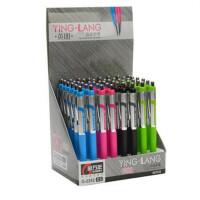 金万年 自动铅笔 2B铅笔 英朗铁夹 0.5mm活动铅笔 G-2252 笔杆颜色*