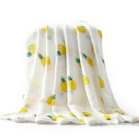 婴儿浴巾纯棉纱布浴巾新生儿毛巾包被儿童宝宝洗澡巾盖毯