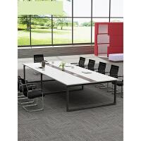 办公家具会议桌长桌简约现代小型板式培训桌长方形办公桌椅长条桌 p0o
