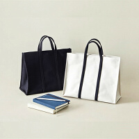 韩国简约商务公文包百搭休闲学生布书包a4文件袋女帆布手提文件包