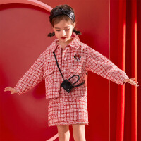 【3折�A估�r:115.3元】迪士尼女童小香�L�r尚外套秋冬新款洋�馔��b卡通�和�����上衣�_衫
