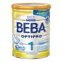 保税区直发 德国Nestlé雀巢BEBA贝巴婴幼儿奶粉1段(0-6个月)800g