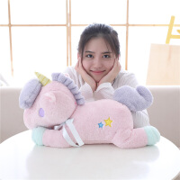 ?独角兽毛绒玩具陪睡娃娃玩偶双子星生日礼物女生儿童抱枕公仔创意