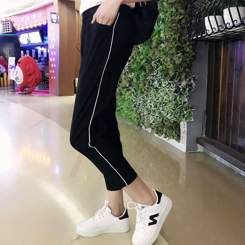 校裤一条杠校服裤子初高中学生男女薄款女士运动长裤显瘦修身 发货周期:一般在付款后2-90天左右发货,具体发货时间请以与客服协商的时间为准