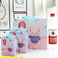 20200112153632533满月酒空盒满月糖果礼盒猪宝宝浪漫公主糖果盒粉色礼袋宴请精致