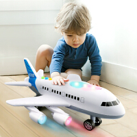 儿童飞机玩具超大号仿真客机惯性直升飞机男孩宝宝音乐玩具车模型