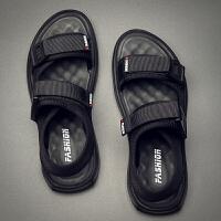 男士凉鞋新款男夏季潮流休闲青年韩版软底男式沙滩凉拖鞋
