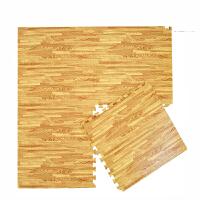 木纹泡沫地垫拼接家用地板垫子儿童拼图地垫卧室榻榻米爬行垫 抖音
