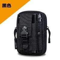 新款户外战术腰包男多功能防水帆布运动军迷挂包6寸手机包工具包