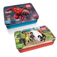 迪士尼超能陆战队系列阶梯训练铁盒拼图G 共2盒 [3-6岁]