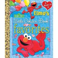 Elmo's Little Golden Book Favorites (Sesame Street) 英文原版 芝麻街